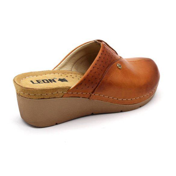 Leon Comfort női papucs - 1002 Barna