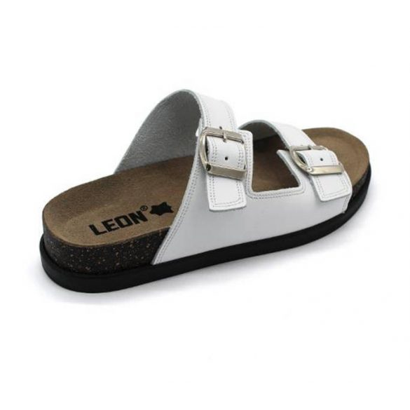 Leon Comfort női papucs - 1220 Fehér