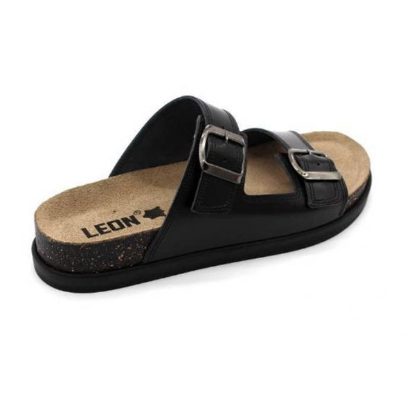 Leon Comfort női papucs - 1220 Fekete