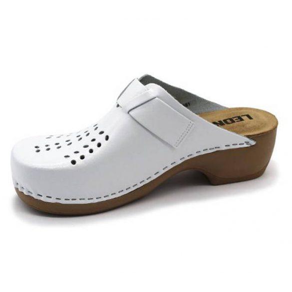 Leon Comfort női papucs - 161 Fehér új