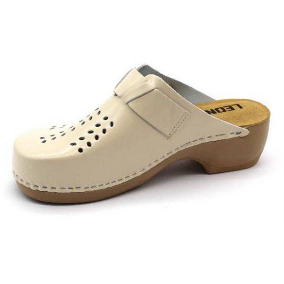 Leon Comfort női papucs - 161 bézs uj
