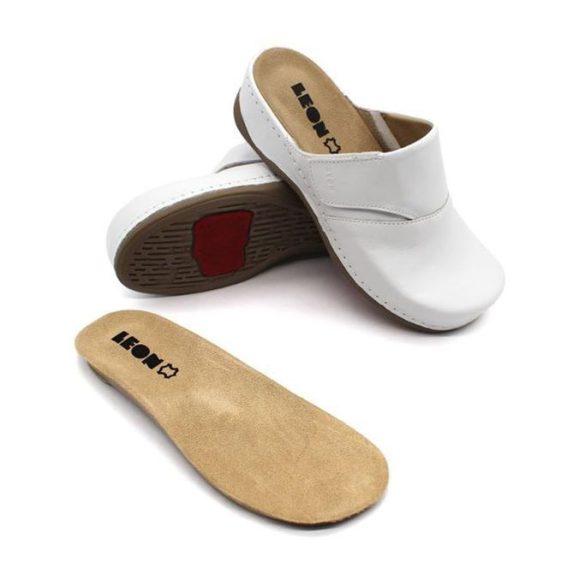 Leon Comfort női papucs 400 Fehér Női cipő webáruház