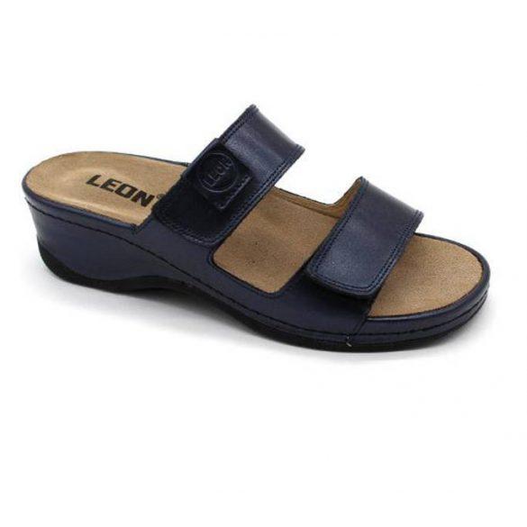 Leon Comfort női papucs - 2020 kék