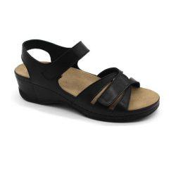 Leon Comfort női szandál 1050 Fekete Női cipő webáruház
