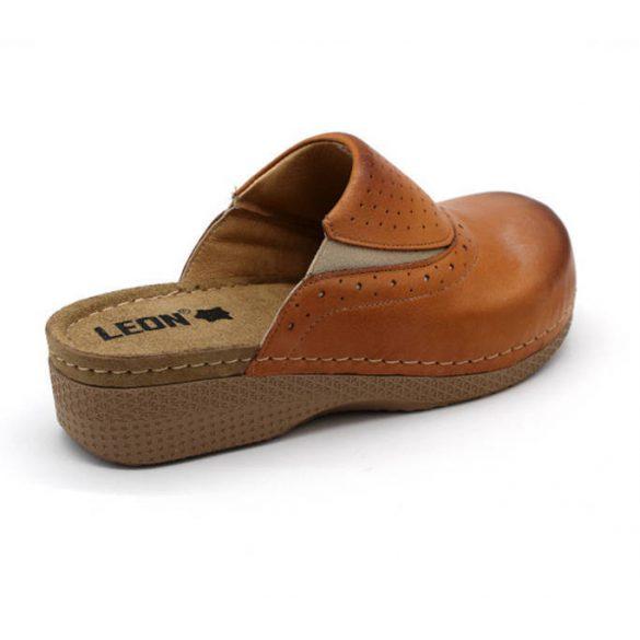 Leon Comfort női papucs - 400 Barna