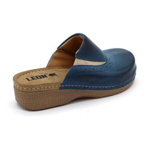 Leon Comfort női papucs - 400 Kék