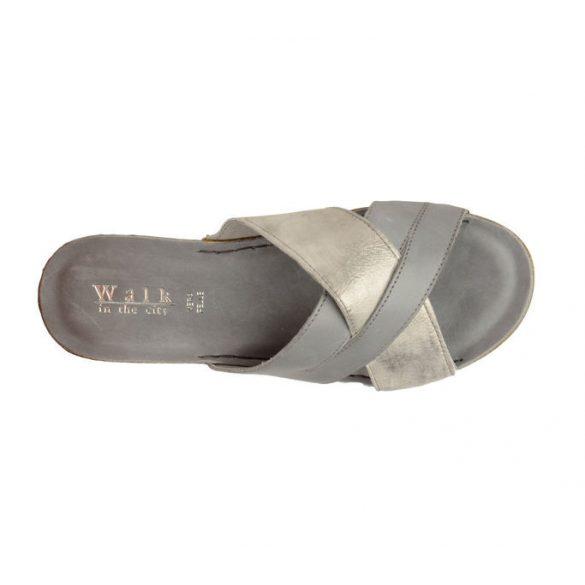 Walkin the city női papucs - 8082_33880 Cement