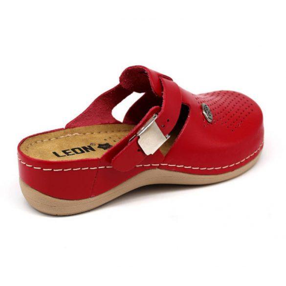 Leon Comfort női papucs - 900 Piros