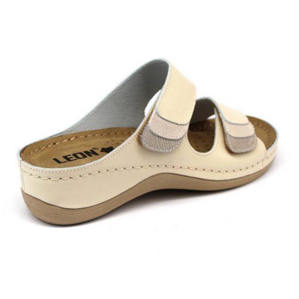 Leon Comfort női papucs - 904 Bézs