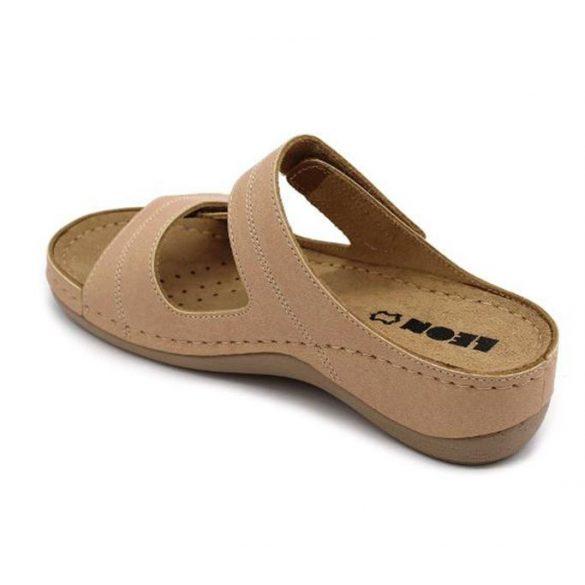 Leon Comfort női papucs - 907 bézs