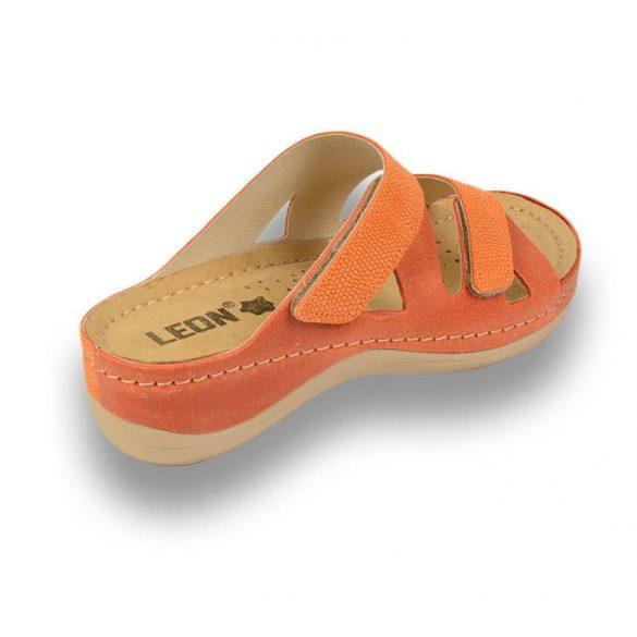 Leon Comfort női papucs - 907 Narancs