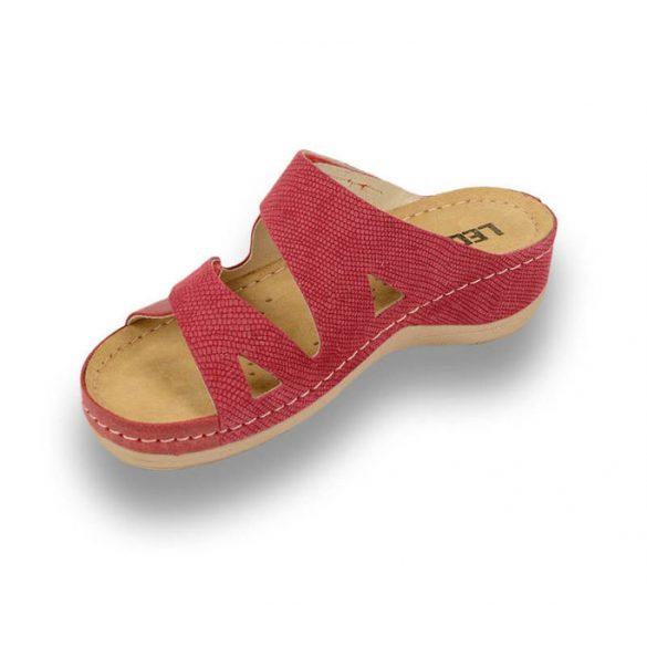 Leon Comfort női papucs - 907 Piros