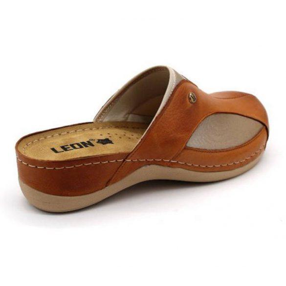Leon Comfort női papucs - 912 Barna