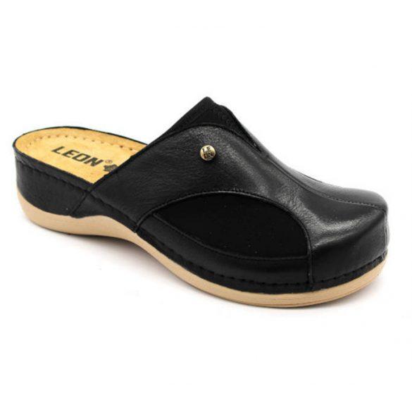 Leon Comfort női papucs - 912 Fekete