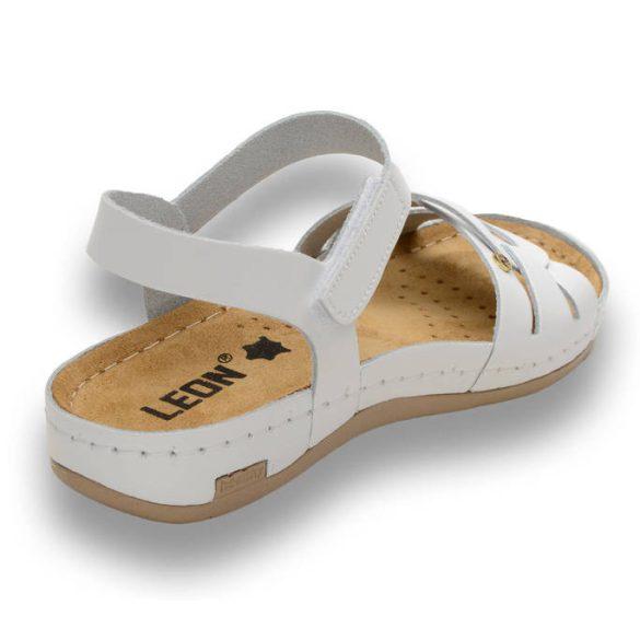 Leon Comfort női szandál - 961 Fehér