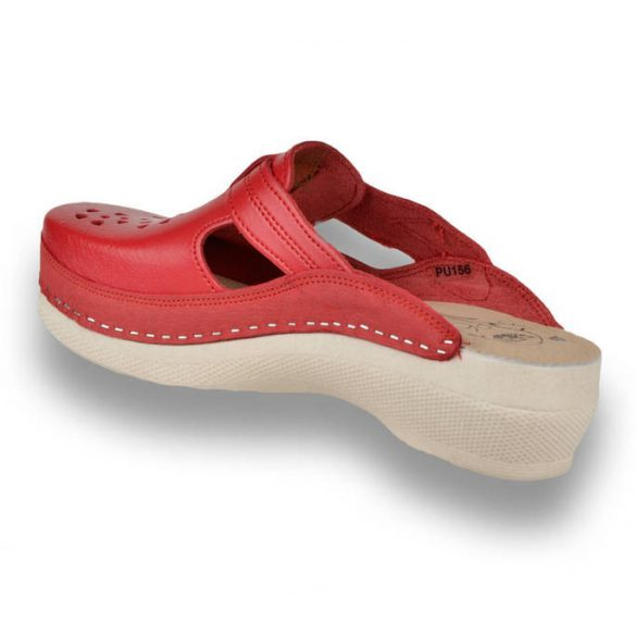 Leon Comfort női papucs - Pu 156 Piros